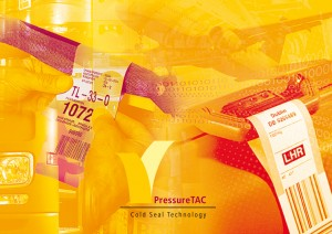Pressure TAC Coldseal technology linerless labels