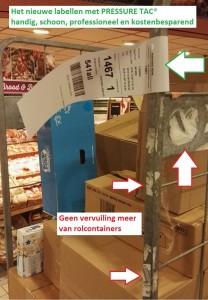 PRESSURE TAC Logistieke labels