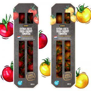 Kartonnen verpakking voor tomaatjes